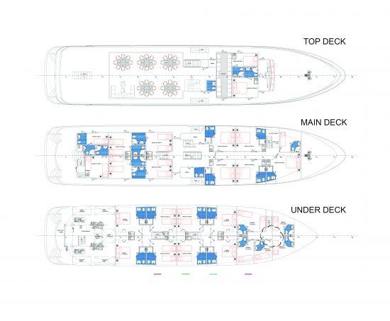 MS Admiral - Deck Plan