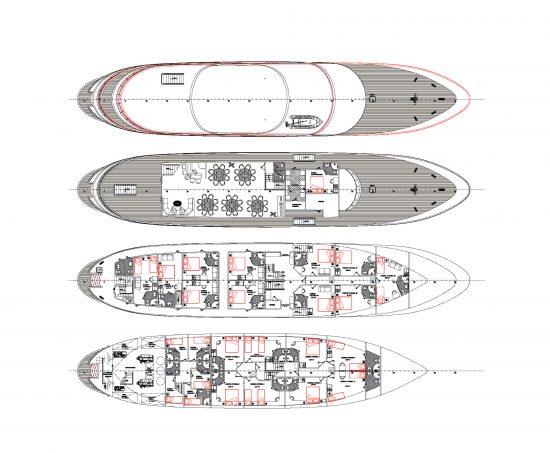 MS Futura Deckplan