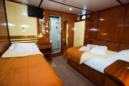 MS Princess Aloha Twin Cabin