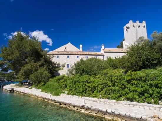Mljet - St. Mary Island Monastery