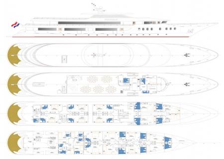 MS Avangard deckplan
