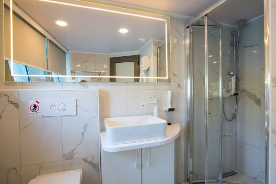 Agape Rose Bathroom 1