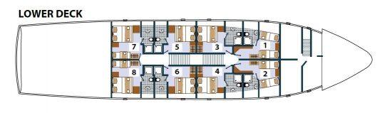Princess Aloha Deck Plan 3