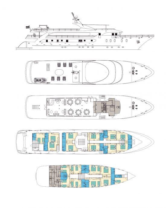 Maritimo Deck Plan Small