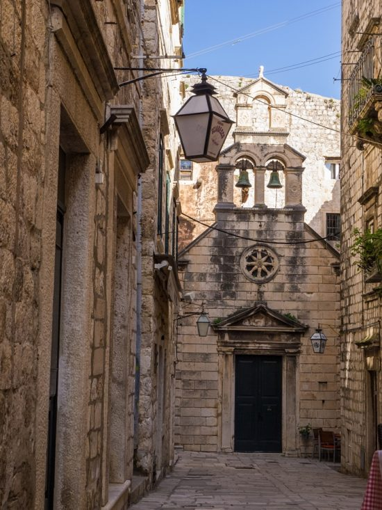 The Little Church of St. Nicholas, Old Town, Dubrovnik