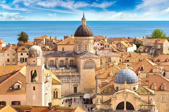 Rooftop view of Dubrovnik