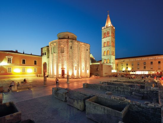 Zadar, Church of St. Donatus