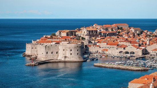 View of the Old Town of Dubrovnik